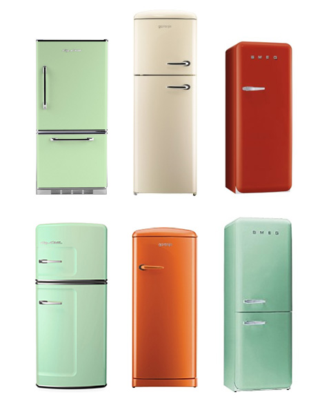 Vintage Fridge: Scandinavian Design